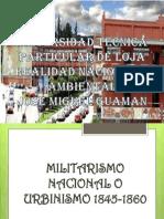 El Periodo Militarismo