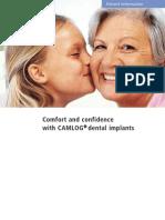 CAMLOG Implant Patient Education Brochure