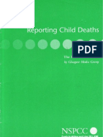 Reporting Child Deaths
