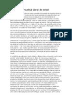 Injustiça social do Brasil