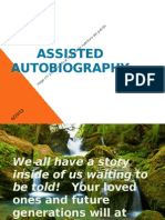 assisted autobiography