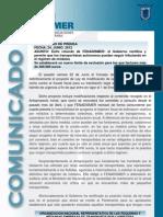 COM PRESS 24 06 2012 Exito de Fenadismer Los transportistas podrán continuar en modulos