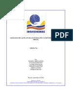 GEOLOGÍA DE LAS PLANCHAS 25 FUNDACIÓN, 32 MONTERRUBIO Y 39 EL DIFÍCIL