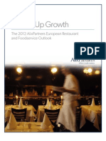 European and Food Service Outlook 2012