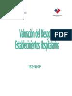 Manual de Valoracion de Riesgo en Hospitales Isp-Inp