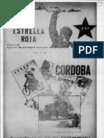 Revista Estrella Roja. Buenos Aires, Nº 1, abril, 1971