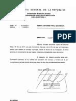 Informe Final N°63/2011 Contraloria General de la República