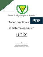 Taller práctico sobre Unix