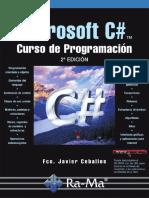Ceballos: C# - Curso de programación, 2ª edición