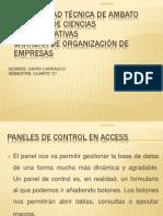 Paneles de Control en Access