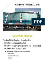 LAS PIÑAS DOCTORS HOSPITAL, INC.(Company Profile)