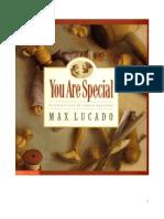 You Are Special Max Lucado