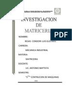 Matriceria