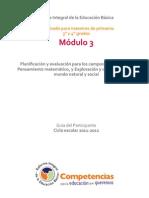 Guía del Participante completa. 3° y 4°. tercer módulo