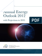 EIA Annual Energy Outlook - 2012