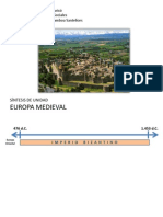 Síntesis Europa Medieval