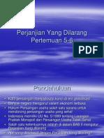 (5)Perjanjian Yang Dilarang (22.05.2012)