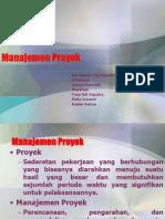 Manajemen Proyek Kelompok 7