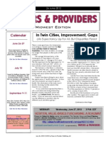 Payers & Providers Midwest Edition – Issue of June 26, 2012