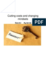 Cutting Costs & Changing Mindsets (3)