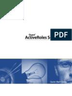 ActiveRolesServer 6.7 QuickStartGuide (English)