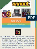 connect MS-DOS versão 01