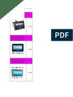 Tablet PC Pricelist