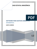 SOFTWARE DE GESTIÓN AMBIENTAL
