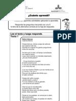 prueba 4° poema