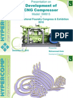 Development of CNG Compressor