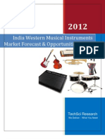 India Western Musical Instruments Market Forecast and Opportunities 2017