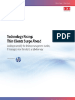 HP - Whitepaper - CIO - Technology Rising Thin Clients Surge Ahead
