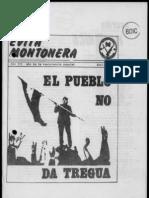 Revista Evita Montonera. Buenos Aires, Nº 17, año III, Mayo, 1979