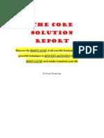 Core Solution Report