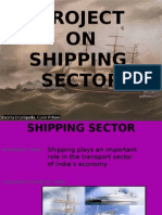 Shipping Sector in India