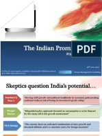 India Positive Economic Outlook