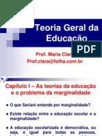 Teoria Geral da Educação1
