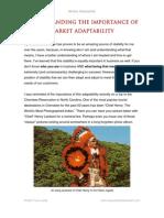 Understanding the Importance of Market Adaptability