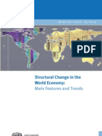 UNIDO - Structural Change in the World Economy