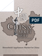 Household Appliances Market in China - Market Brief