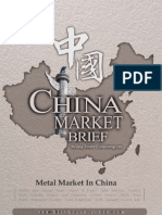 Metal Market in China - Market Brief