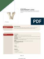 Electrosoft Latex