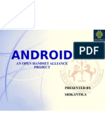 ANDROID Presentation