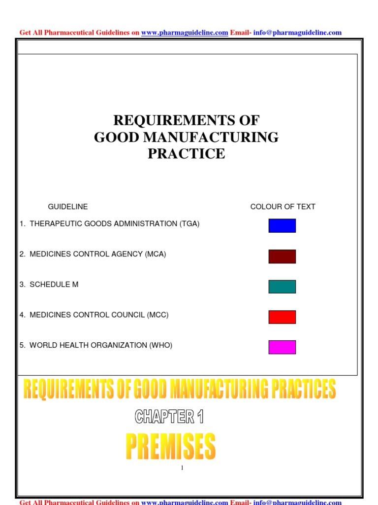pharma guideline warehouse laboratories rh scribd com pharma guidelines for sop Military SOP Template