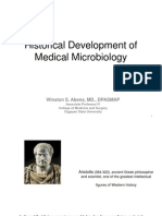 Historical Development of Medical Microbiology