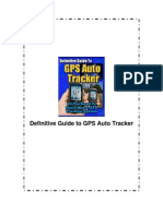Guide to Gps Auto Tracker