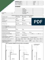 Tank Seal Datasheet