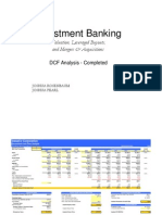 DCF Analysis Template
