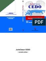 Revista JurisClasor CEDO Anul I - 2011