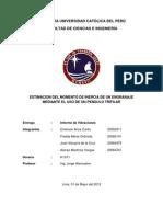 Informe - Estimación del Momento de Inercia mediante el Péndulo Trifilar
